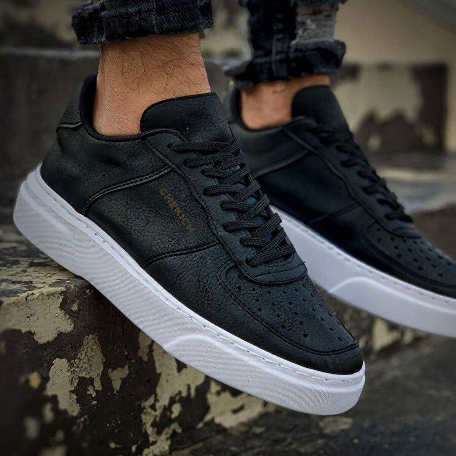 Chekich CH087 BT Erkek  Sneaker Ayakkabı SİYAH/SİYAH