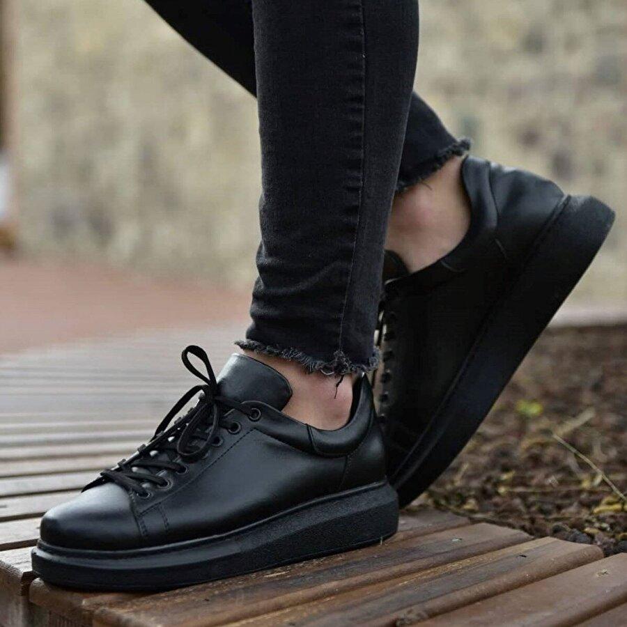 Chekich CH257 ST Erkek  Sneaker Ayakkabı SIYAH