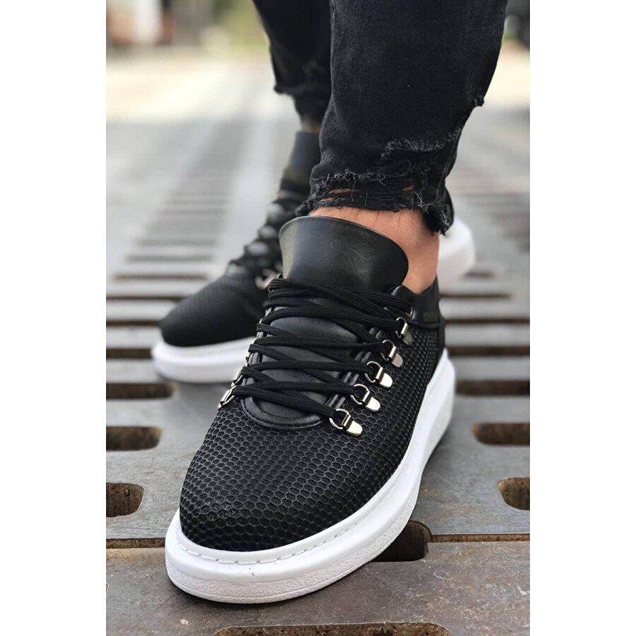 Chekich CH021 YBT Erkek  Sneaker Ayakkabı SIYAH