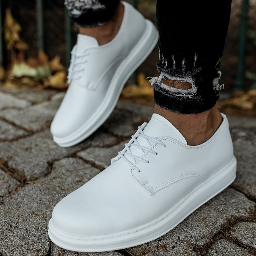 Chekich CH003 BT Erkek  Sneaker Ayakkabı BEYAZ