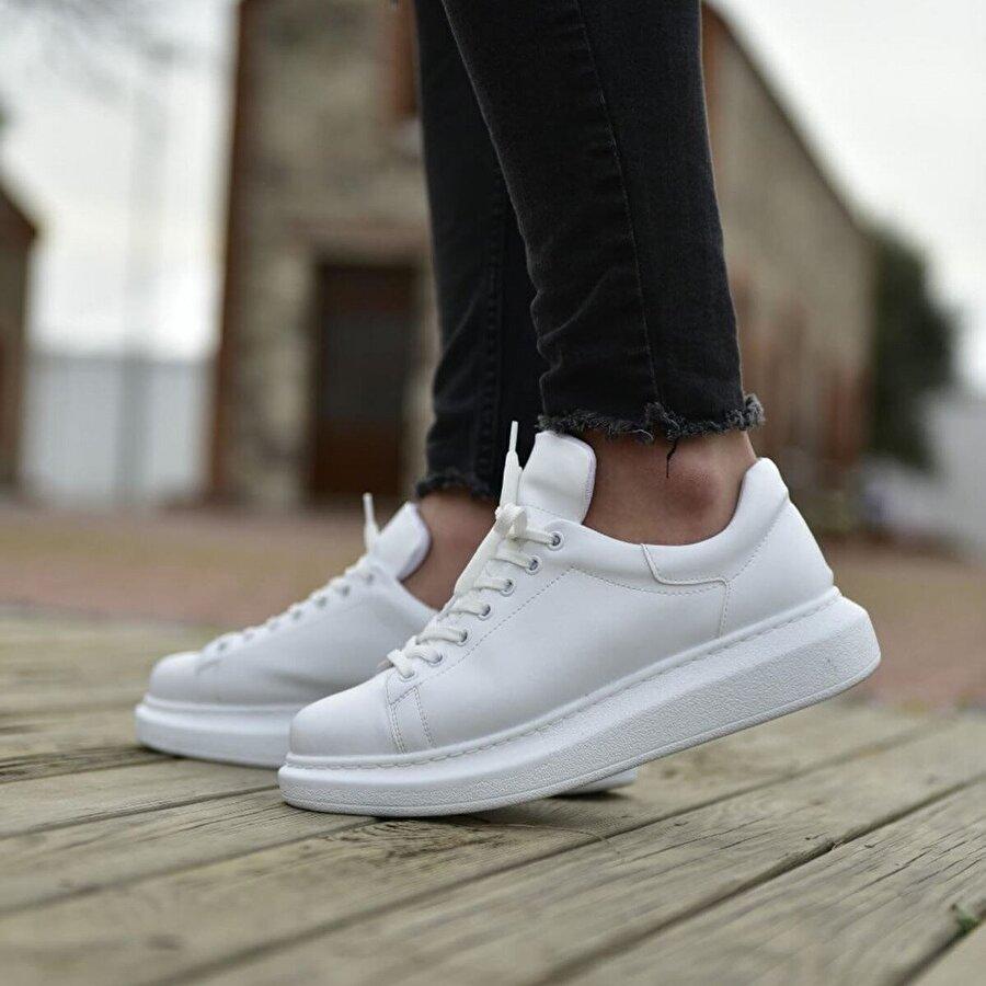Chekich CH257 BT Erkek  Sneaker Ayakkabı BEYAZ