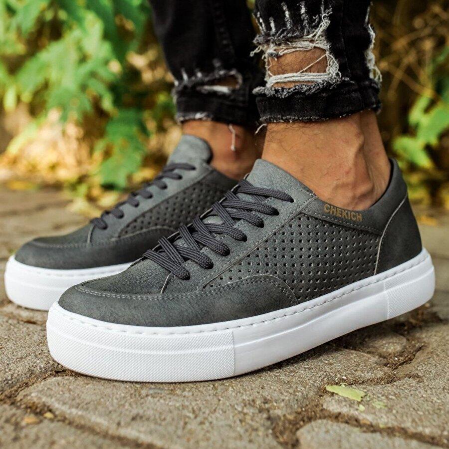 Chekich CH015 BT Erkek  Sneaker Ayakkabı ANTRASİT