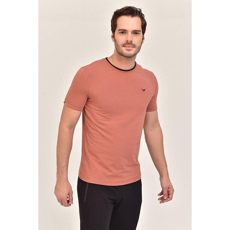 Bilcee Kiremit  Erkek T-Shirt ES-2374