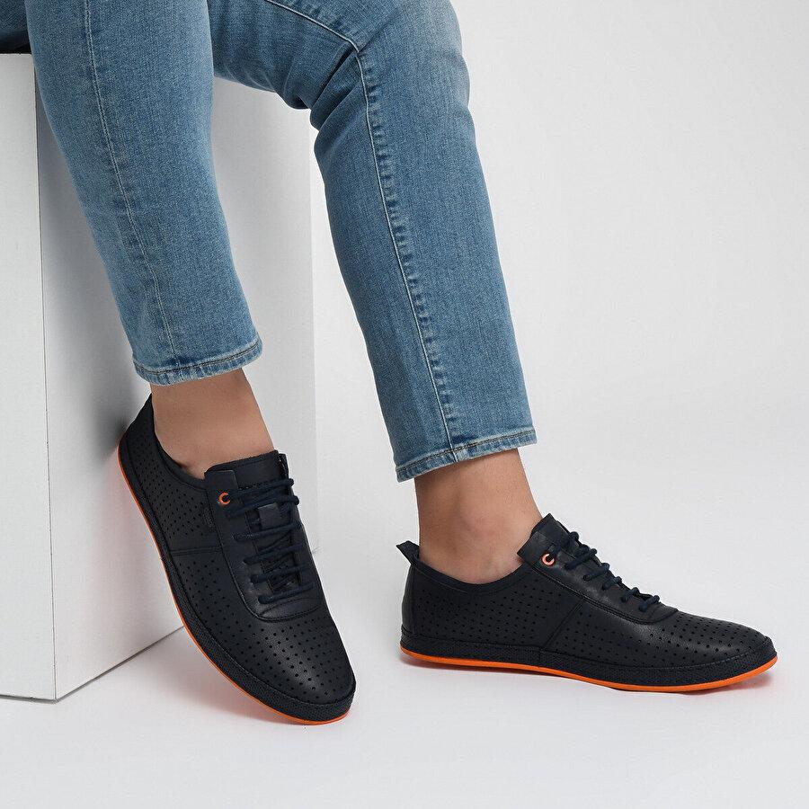 Dockers by Gerli 226201 Lacivert Erkek Basic Comfort Ayakkabı