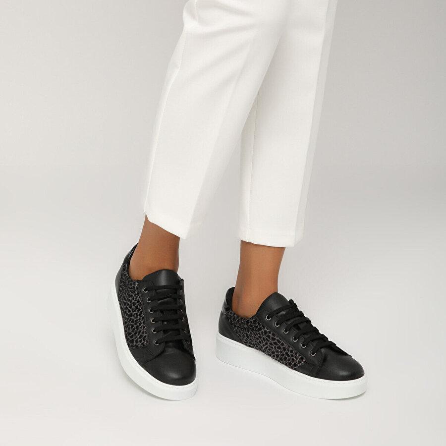 Butigo 19S-004 Siyah Kadın Sneaker Ayakkabı