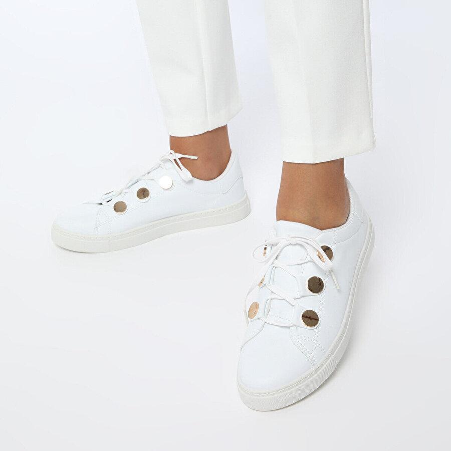 Art Bella CS19048 Beyaz Kadın Sneaker Ayakkabı