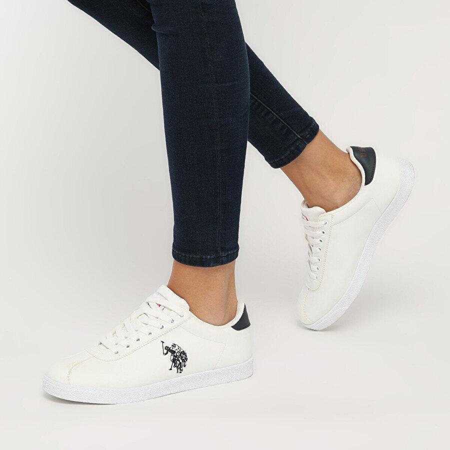 U.S Polo Assn. TABOR WT 9PR Beyaz Kadın Sneaker