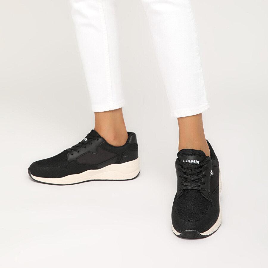 Kinetix GINGER Siyah Kadın Spor Ayakkabı
