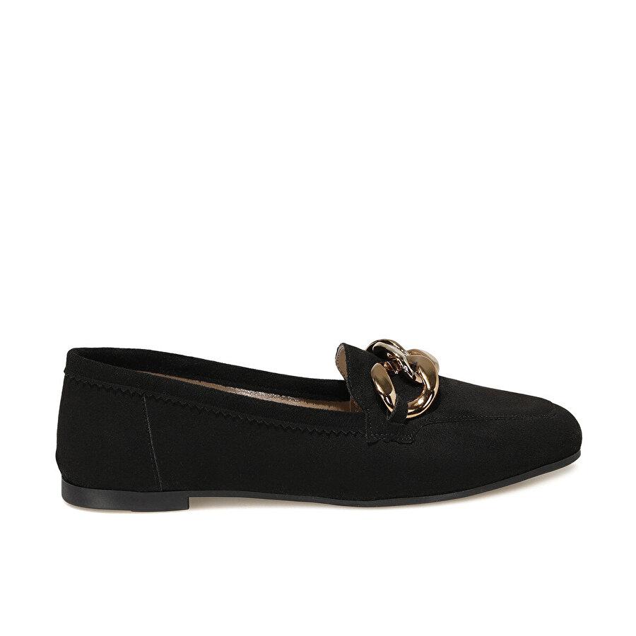 Butigo AREN Siyah Kadın Loafer Ayakkabı