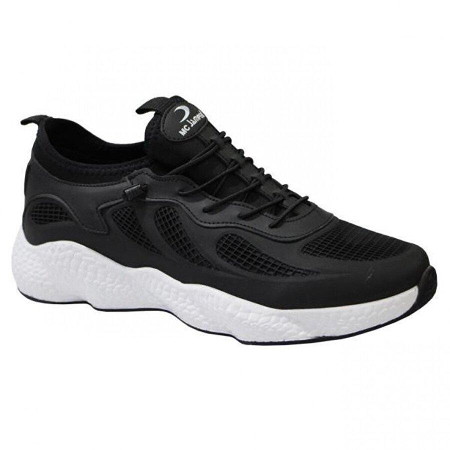 MARCO JAMPER 1834 Trend Erkek Spor Ayakkabı Siyah Beyaz