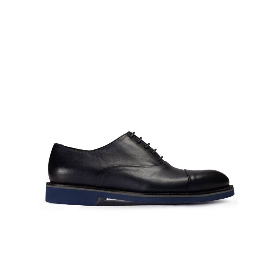Deery Hakiki Deri Lacivert Günlük Erkek Ayakkabı