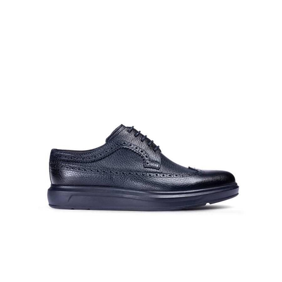 Deery Hakiki Deri Lacivert Comfort Günlük Erkek Ayakkabı