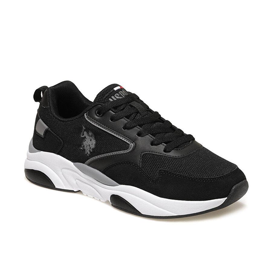 U.S. Polo Assn. ARETHA Siyah Erkek Sneaker Ayakkabı