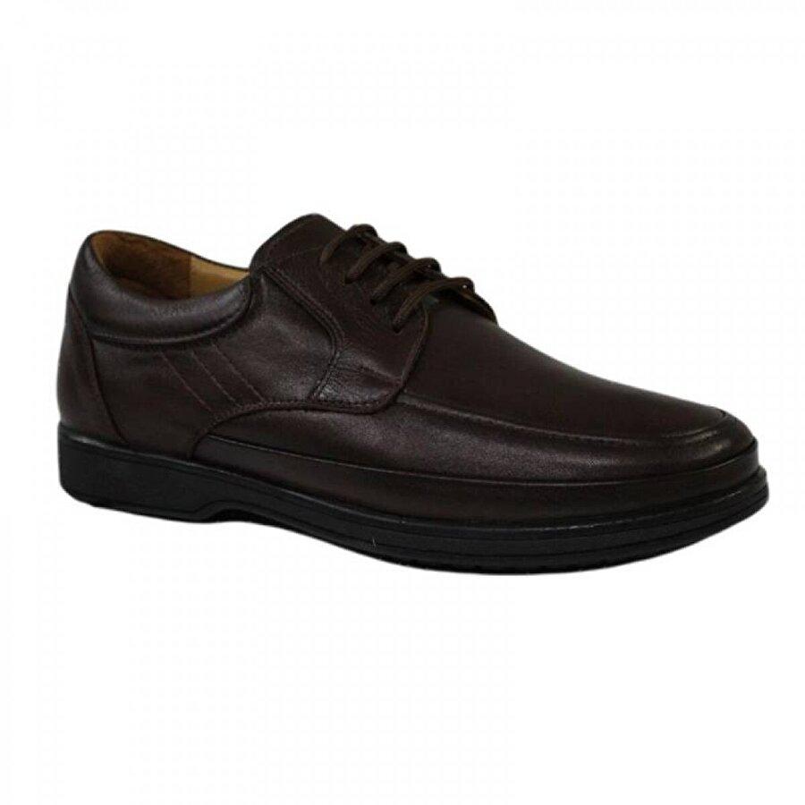 Mehmet Mete 0341 Kahve Hakiki Deri Günlük Erkek Ayakkabı