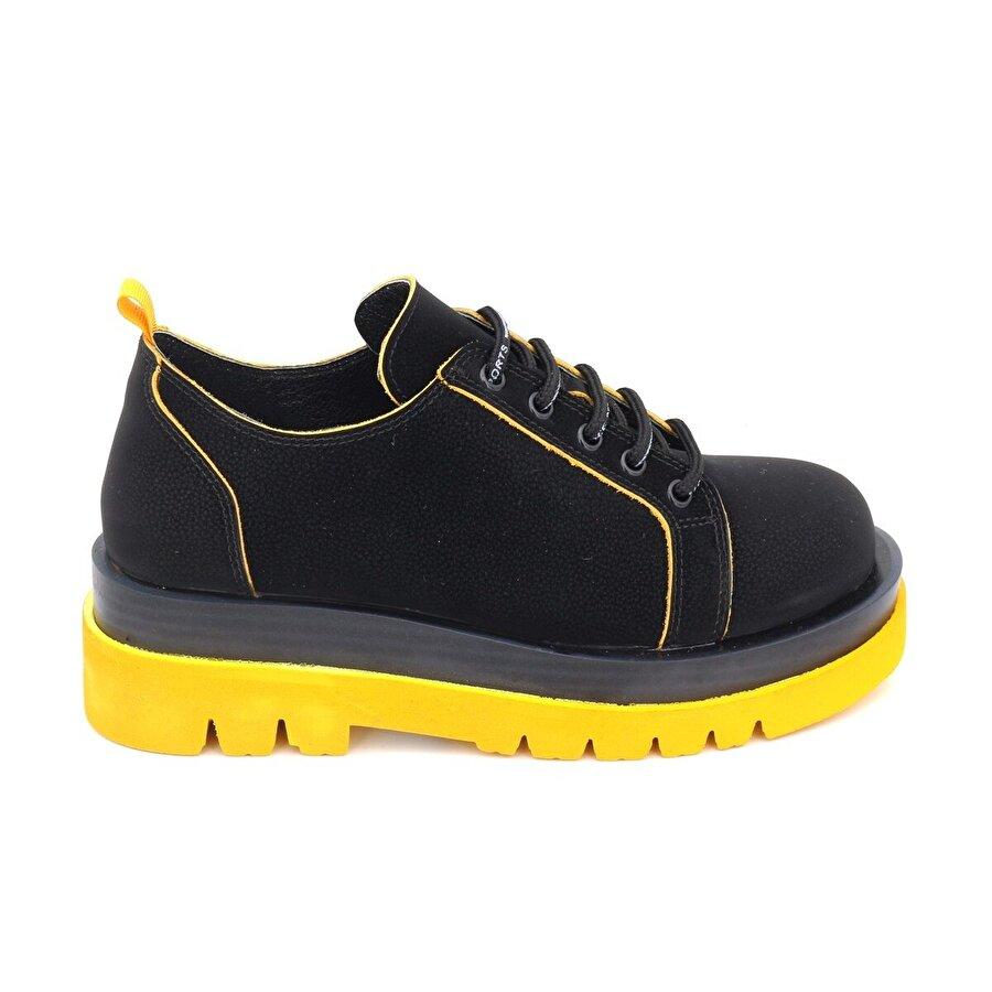 Bestello Bağcıklı Poliüretan Taban Casual 101-206626-04 Kadın Ayakkabı