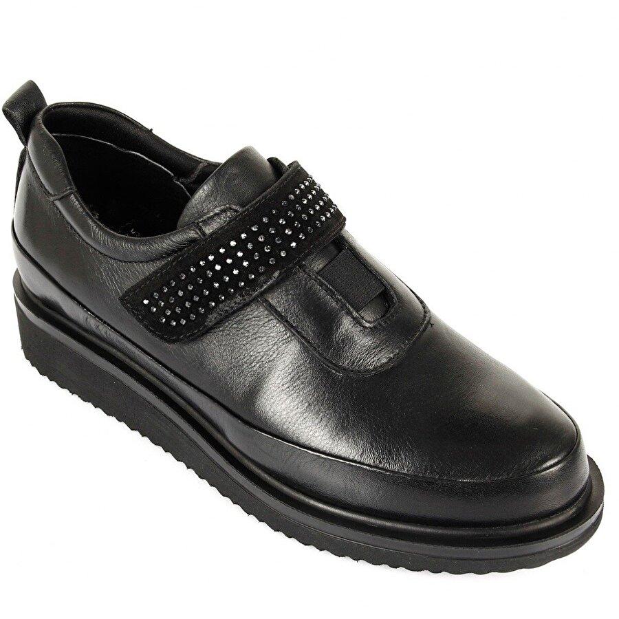 Gön Hakiki Deri Kadın Günlük Ayakkabı 24145