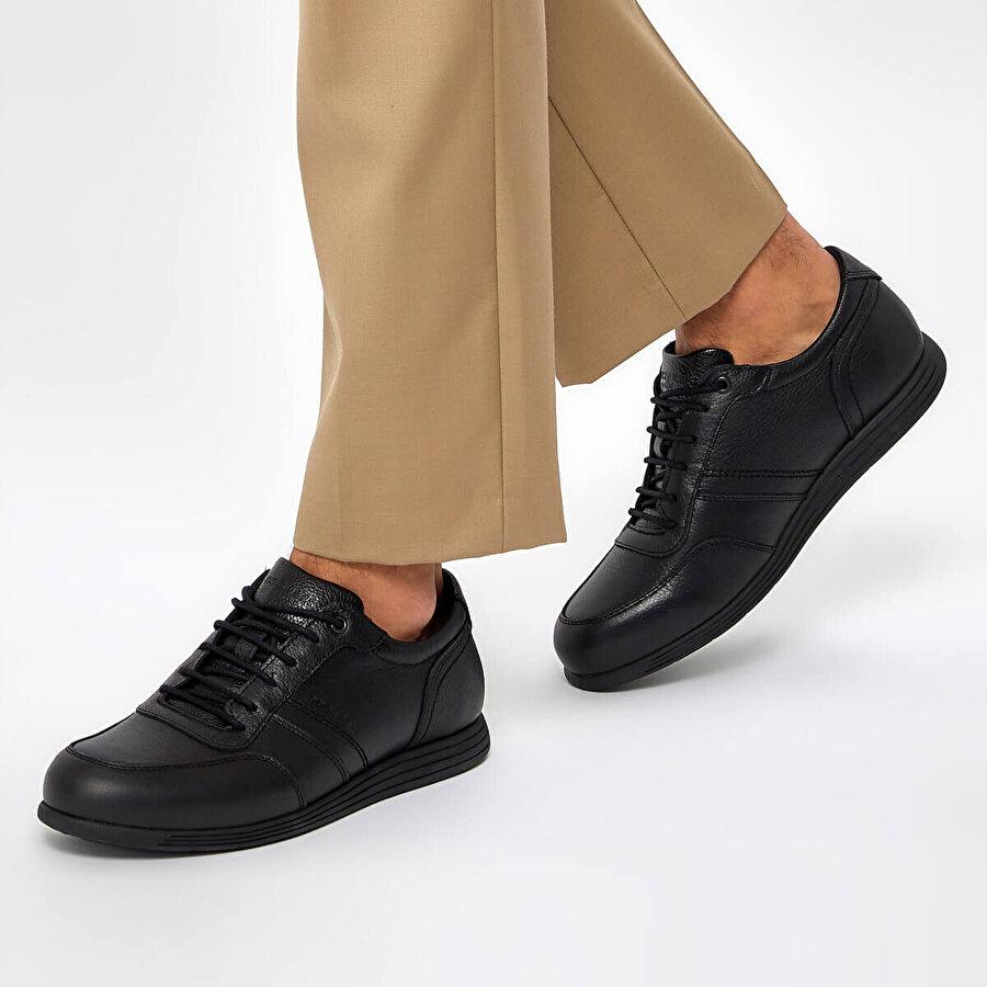 Dockers by Gerli 225040 9PR Siyah Erkek Comfort Ayakkabı