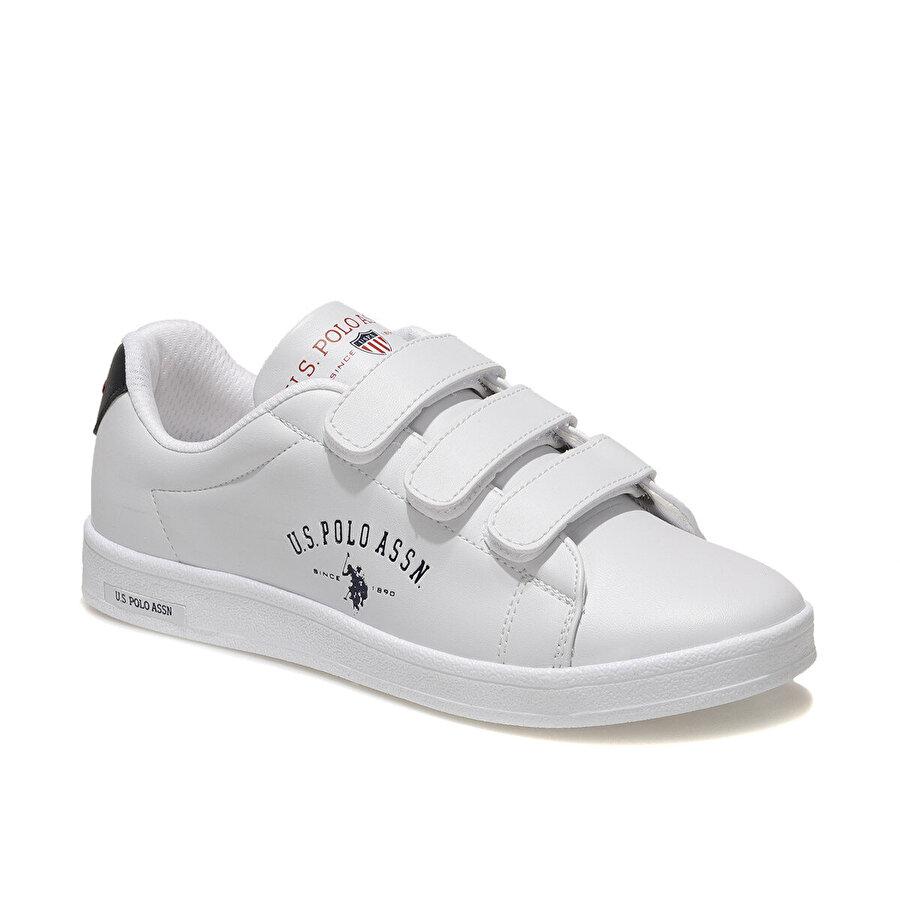 U.S. Polo Assn. SINGER WMN 1FX Beyaz Kadın Sneaker Ayakkabı