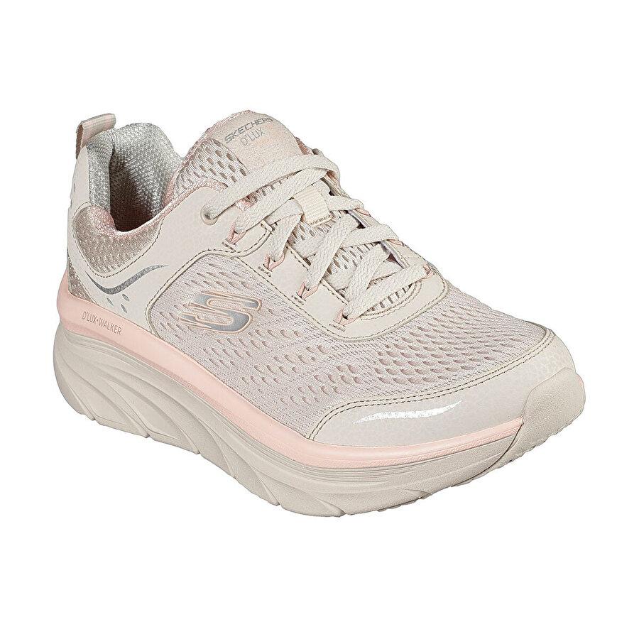 Skechers D'LUX WALKER Naturel Kadın Koşu Ayakkabısı