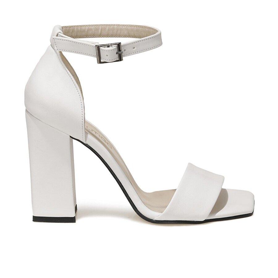 Butigo ANNA 1FX Beyaz Kadın Topuklu Ayakkabı
