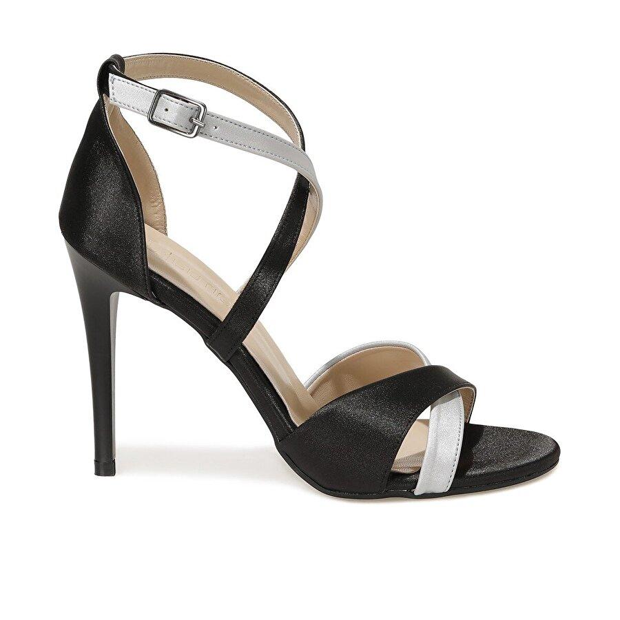 Butigo VALERİA 1FX Siyah Kadın Topuklu Ayakkabı