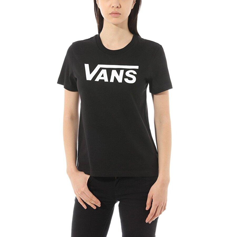 Vans FLYING V CREW TEE Siyah Kadın T-Shirt