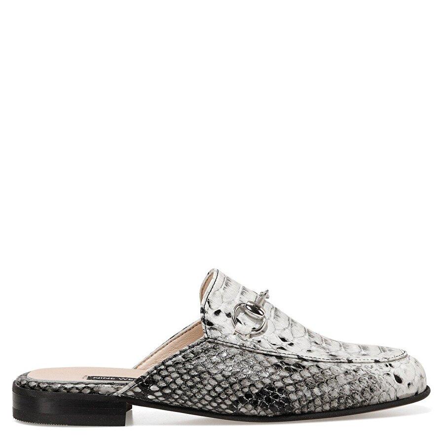 Nine West FILA Beyaz Kadın Loafer Ayakkabı