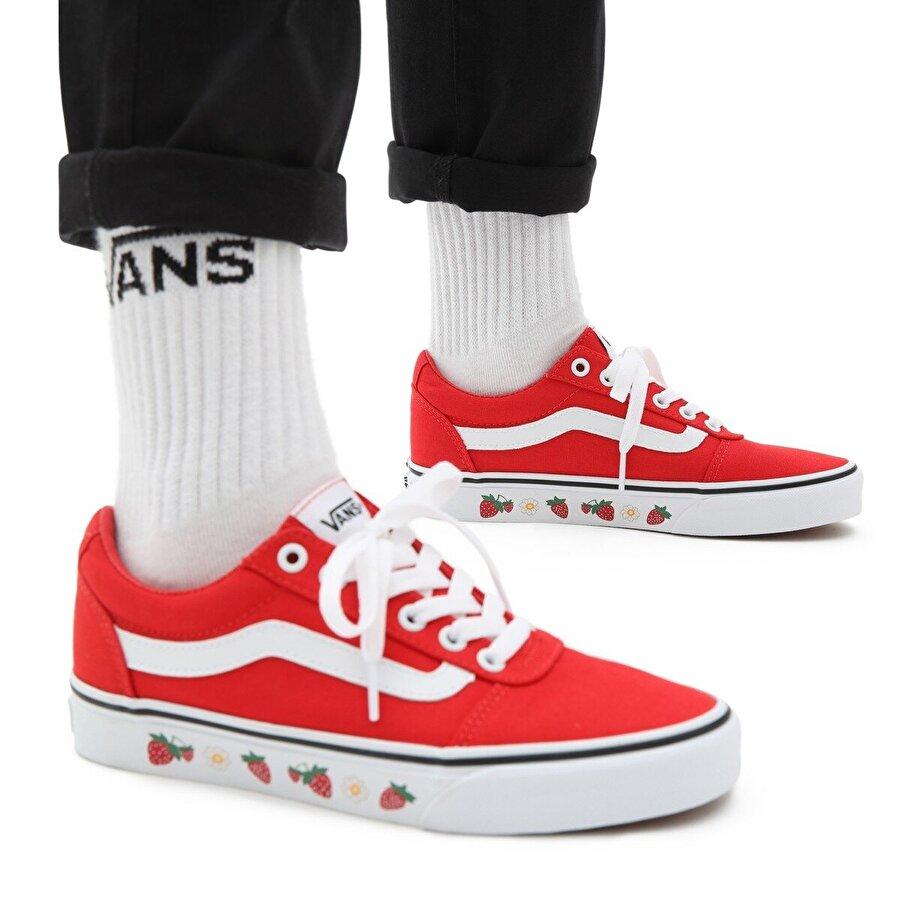 Vans WM WARD Kırmızı Kadın Sneaker