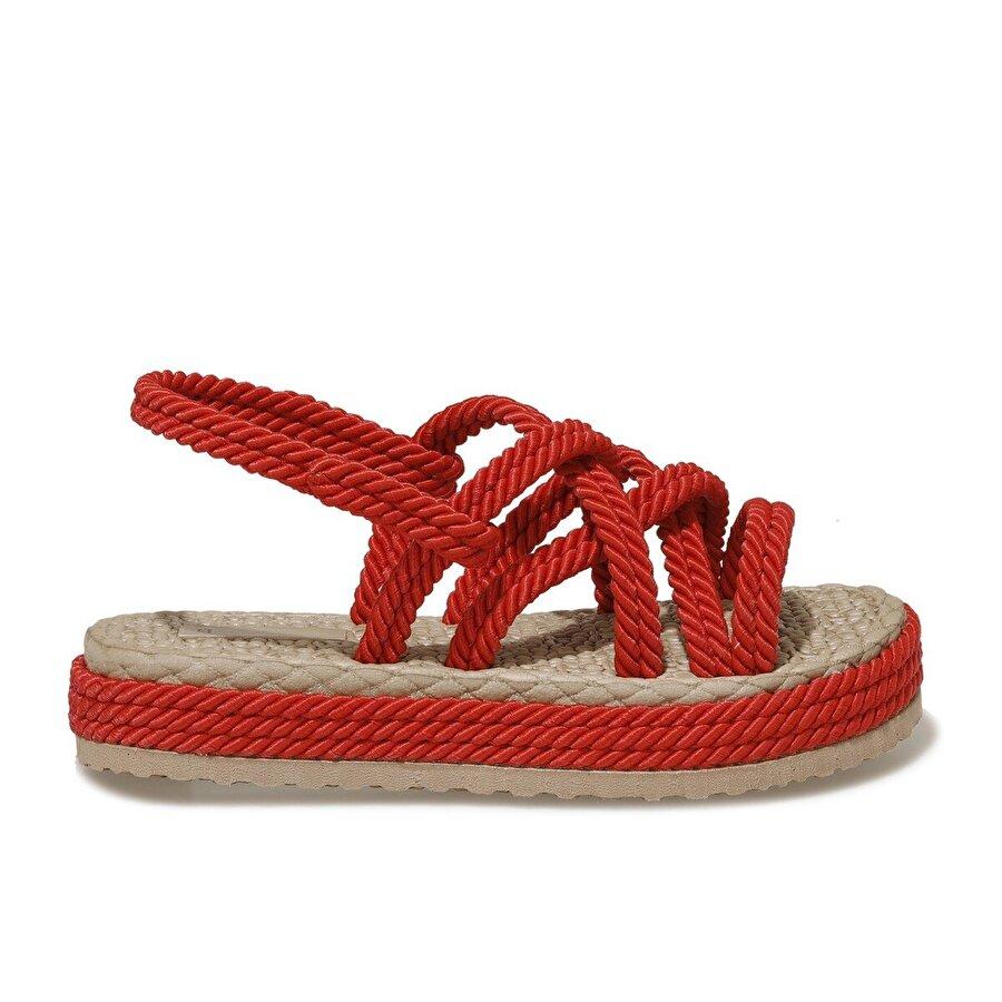 Butigo HAİLEY 1FX Kırmızı Kadın Sandalet