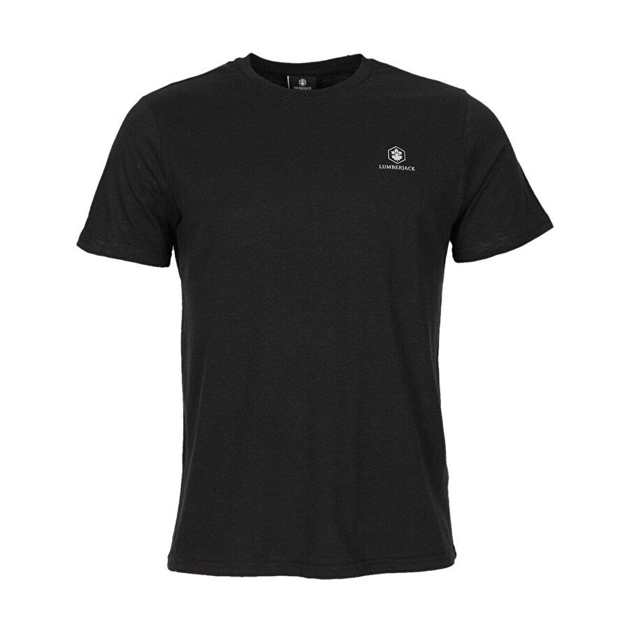Lumberjack M-1815 RAELYN KK TSHIRT B Siyah Erkek Kısa Kol T-Shirt