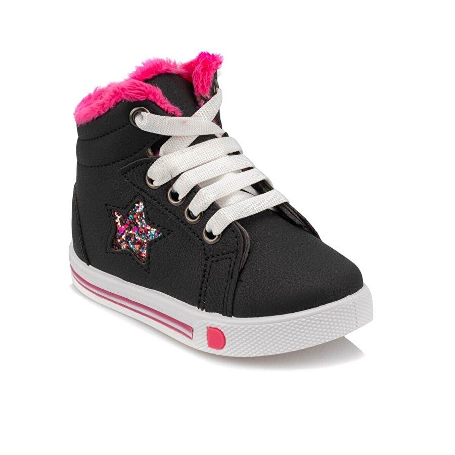 Polaris 92.510832.B Siyah Kız Çocuk Sneaker Ayakkabı