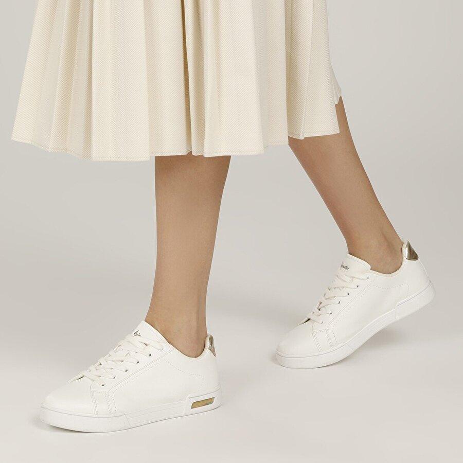 Kinetix DIPSY 1FX Beyaz Kadın Havuz Taban Sneaker