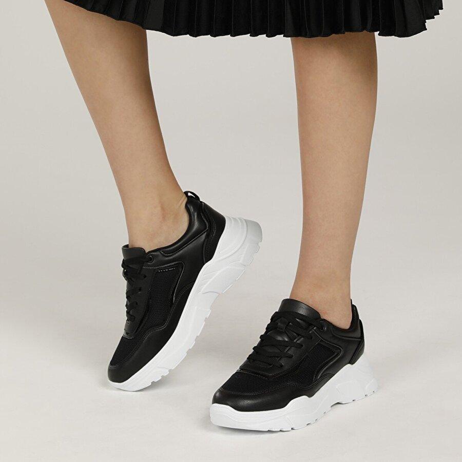 Polaris 315579.Z 1FX Siyah Kadın Fashion Sneaker