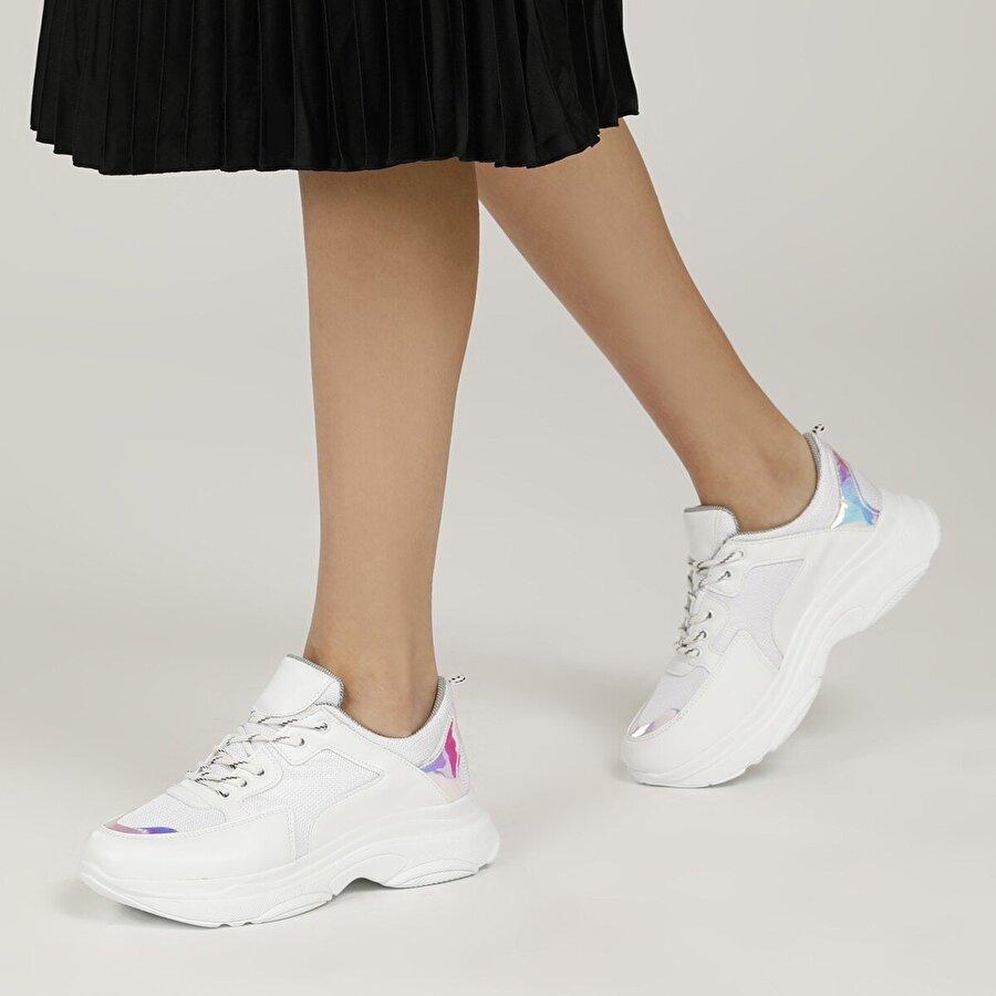 Butigo 19SF-1501 1FX Beyaz Kadın Fashion Sneaker