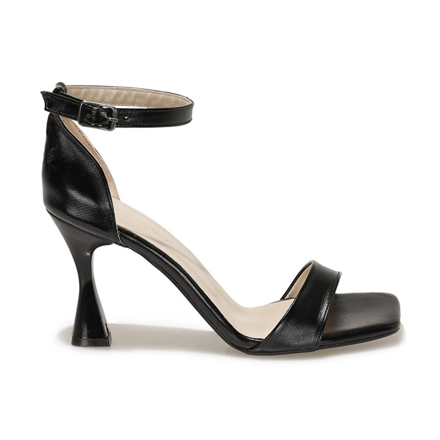 Butigo DARCY 1FX Siyah Kadın Topuklu Ayakkabı