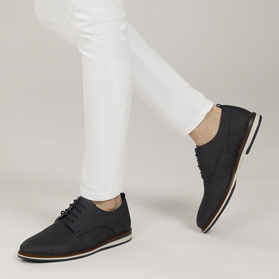 JJ-Stiller 9906-1 1FX Lacivert Erkek Klasik Ayakkabı