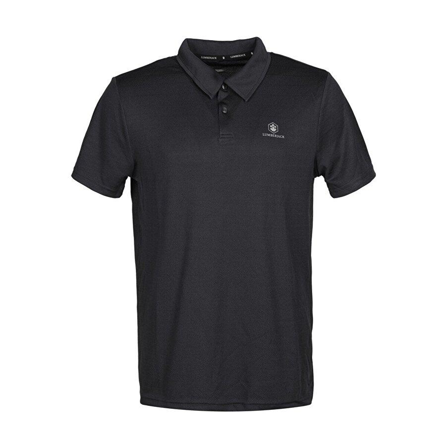 Lumberjack CT461 SHERMAN POLO T-SHIR Siyah Erkek T-Shirt