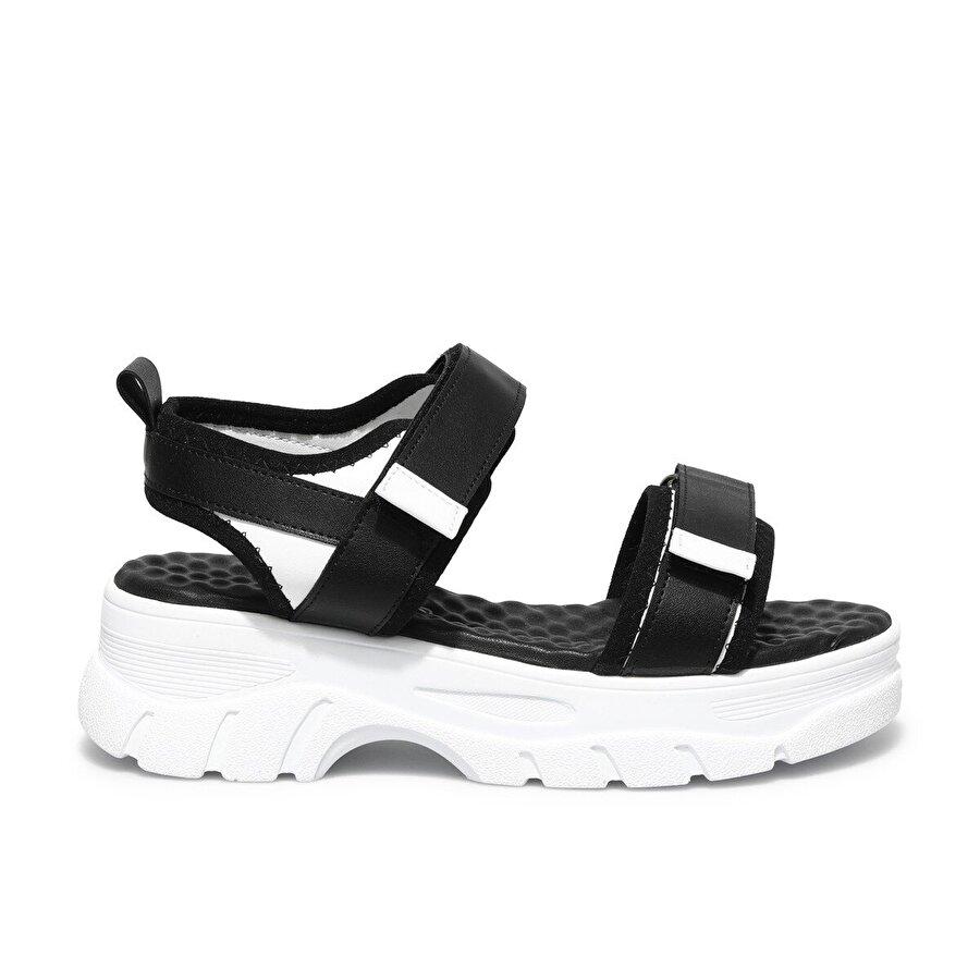 Butigo GUNCE 1FX Siyah Kadın Spor Sandalet