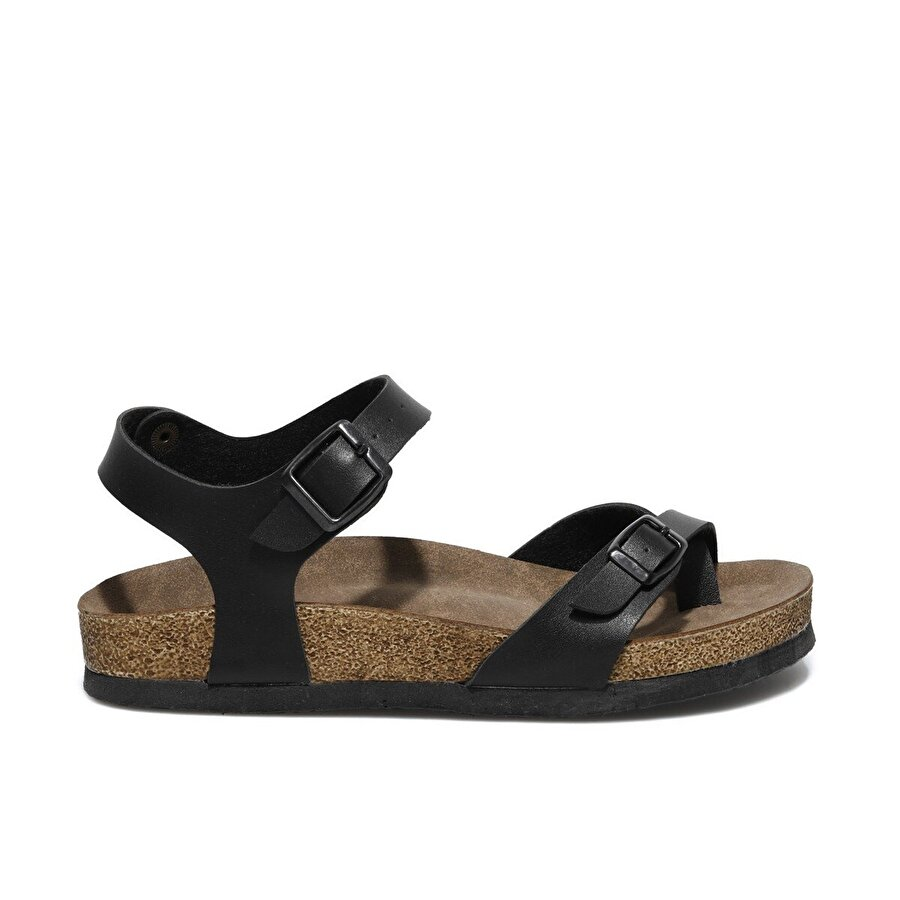 Butigo MİTSU 1FX Siyah Kadın Sandalet