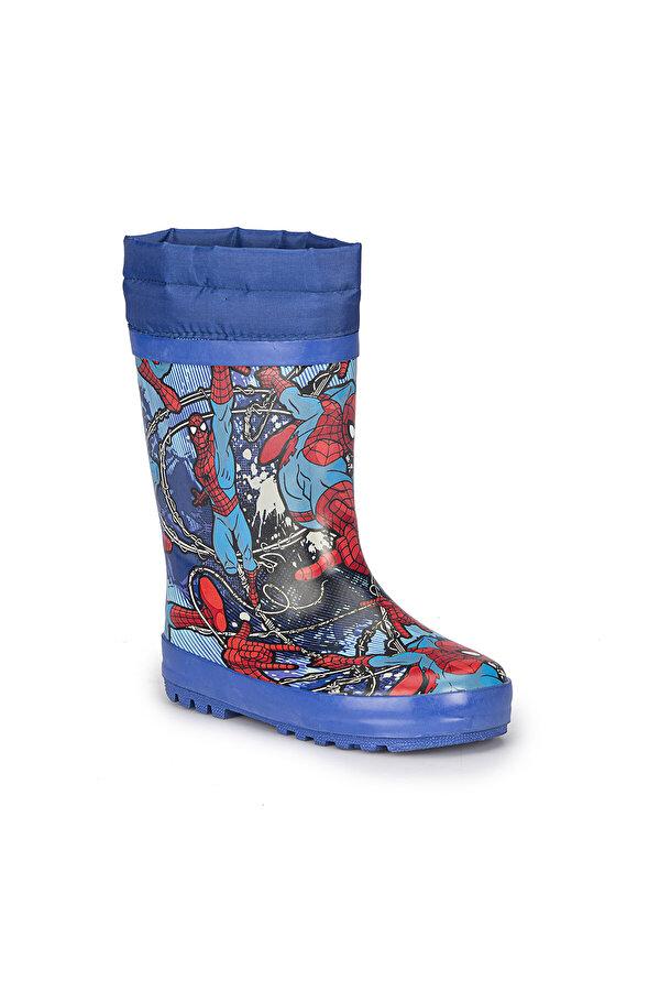 Spiderman OLGAR-1 Mavi Erkek Çocuk Yağmur Botu