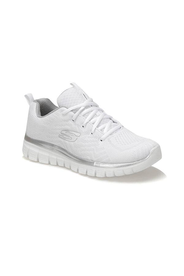 Skechers GRACEFUL-GET CONNECTED Beyaz Kadın Sneaker