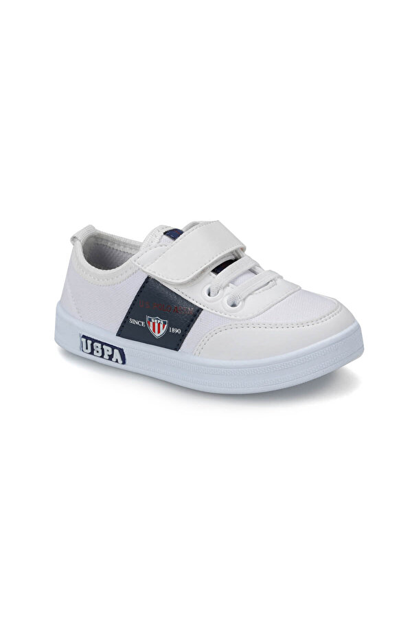 U.S. Polo Assn. U.S Polo Assn. CAMERON TEXTILE Beyaz Erkek Çocuk Sneaker