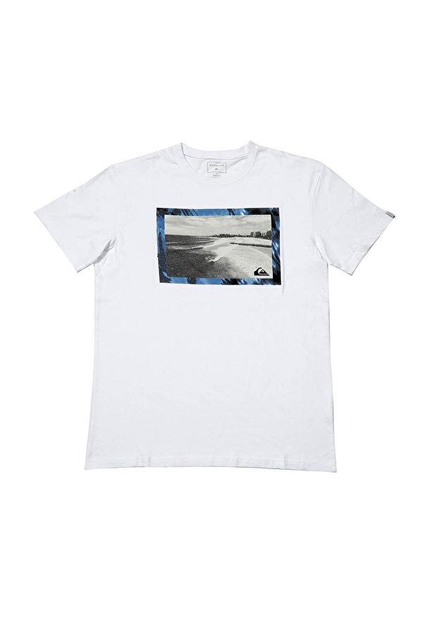 QUIKSILVER THEGOLDYSS M TEES Beyaz Erkek T-Shirt