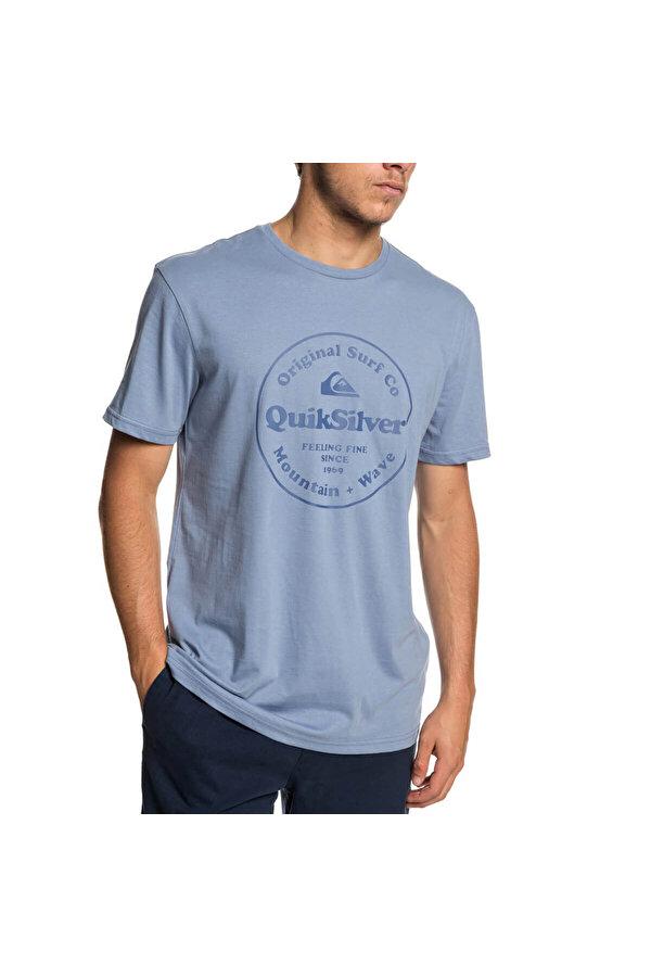 QUIKSILVER SCRTINGREDIENSS M TEES Mavi Erkek T-Shirt