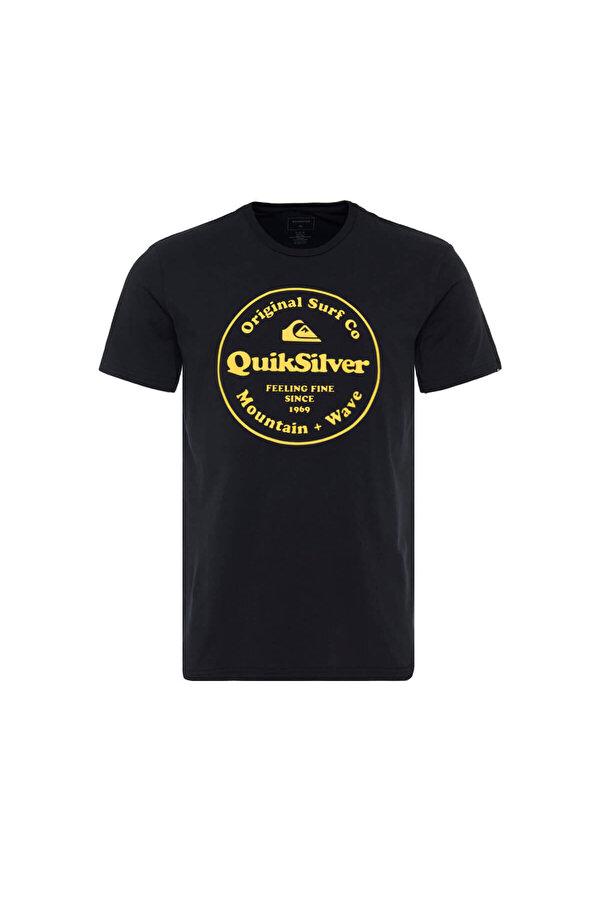 QUIKSILVER SCRTINGREDIENSS M TEES Siyah Erkek T-Shirt