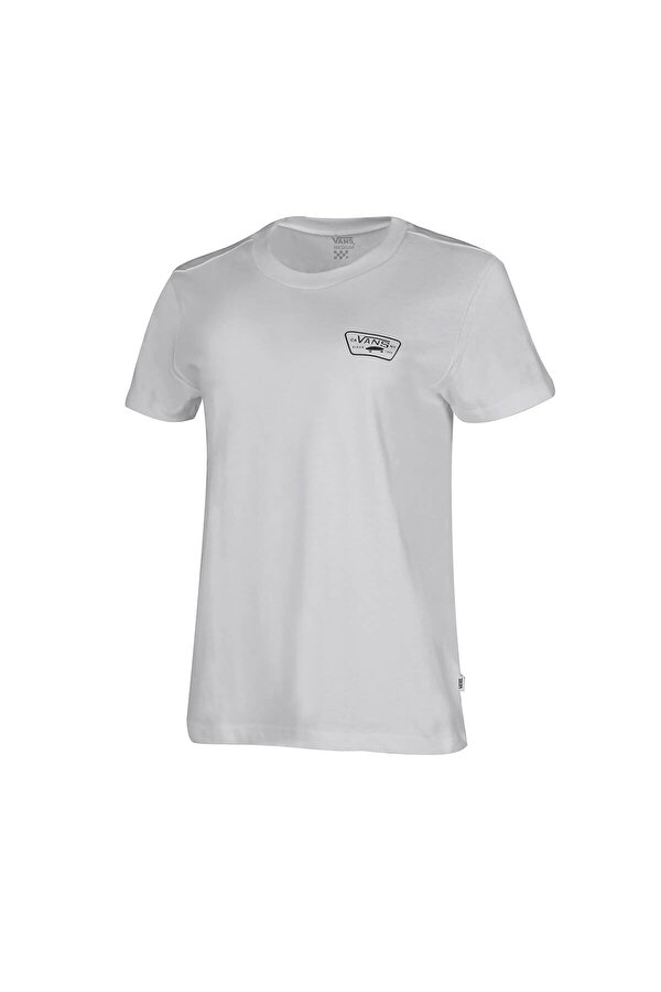 Vans FLYING V CREW TEE Beyaz Kadın Kısa Kol T-Shirt