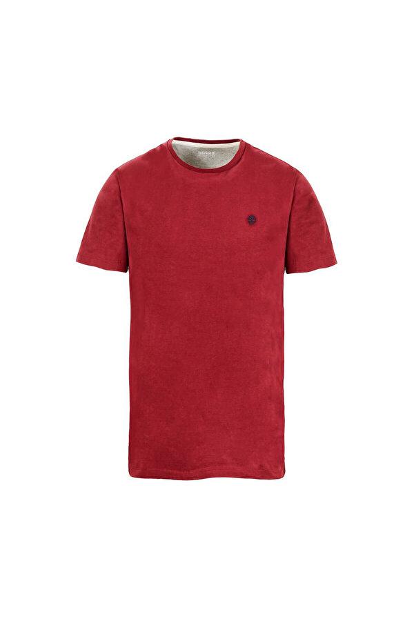 Timberland SS DUNSTAN RV CREW Kırmızı Erkek T-Shirt