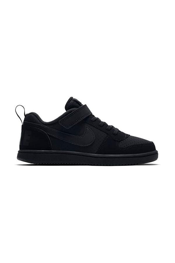 Nike COURT BOROUGH LOW (PSV) Siyah Erkek Çocuk Sneaker Ayakkabı