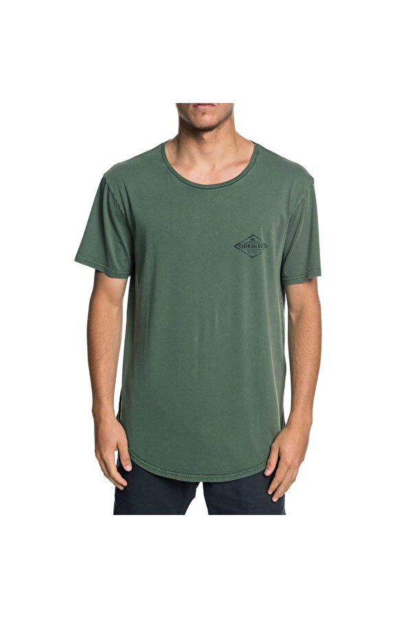 QUIKSILVER DIAMONDTAILSSS M TEES Haki Erkek T-Shirt