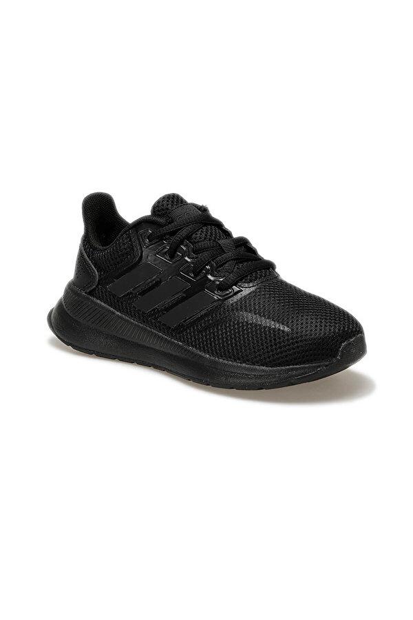 Adidas RUNFALCON Siyah Unisex Çocuk Koşu Ayakkabısı